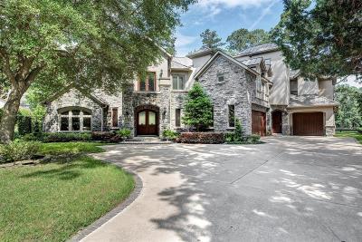 Houston Single Family Home For Sale: 26 Robinlake Lane