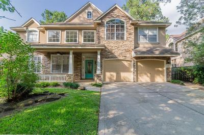 The Woodlands Single Family Home For Sale: 283 N Maple Glade Circle
