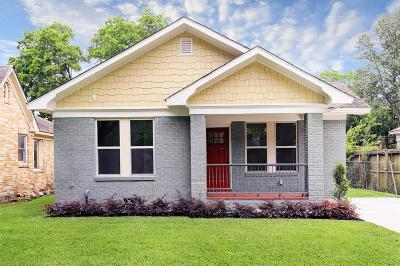 Houston Single Family Home For Sale: 1446 Munger Street
