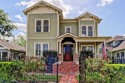 Houston Single Family Home For Sale: 617 Arlington Street