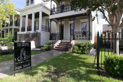 Houston Single Family Home For Sale: 437 W 24th Street