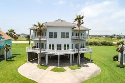 Galveston Single Family Home For Sale: 18228 E De Vaca