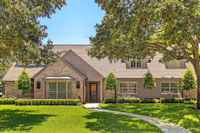 Houston Single Family Home For Sale: 803 Frostwood Drive