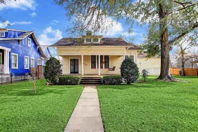 Houston Single Family Home For Sale: 2030 Arlington Street
