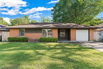Houston Single Family Home For Sale: 5017 W 43rd Street