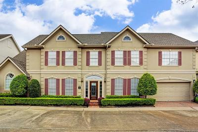 Houston Single Family Home For Sale: 3653 Timberside Circle Drive