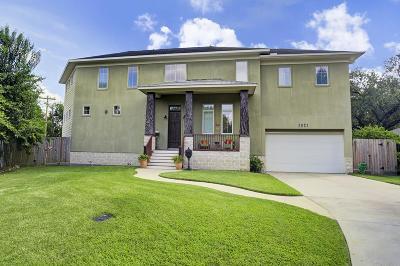 Houston Single Family Home For Sale: 3021 Oakwood Street