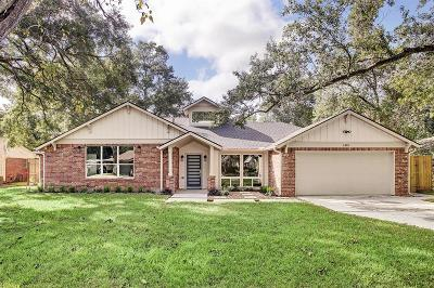 Houston Single Family Home For Sale: 1419 Adkins Road