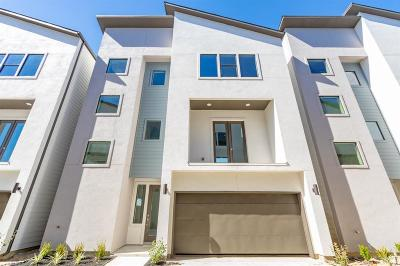 Houston Single Family Home For Sale: 10806 Warwana Road #F