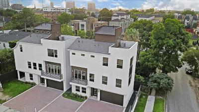 Houston Single Family Home For Sale: 1716 Rosewood Street #B