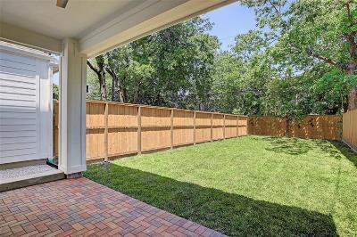 Houston Single Family Home For Sale: 110 E 26th Street #C