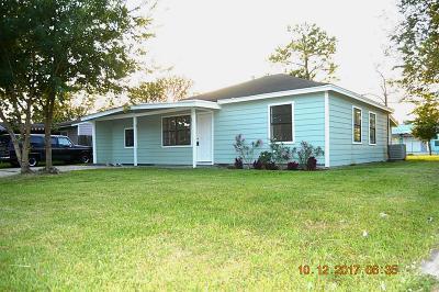 Pasadena Single Family Home For Sale: 707 Burke Road