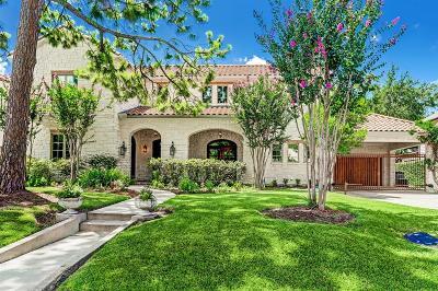 Houston Single Family Home For Sale: 3733 Blue Bonnet
