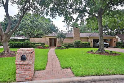 Houston Single Family Home For Sale: 18114 Cadbury Drive