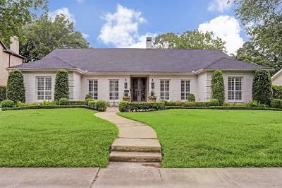 Houston Single Family Home For Sale: 6218 Terwilliger Way