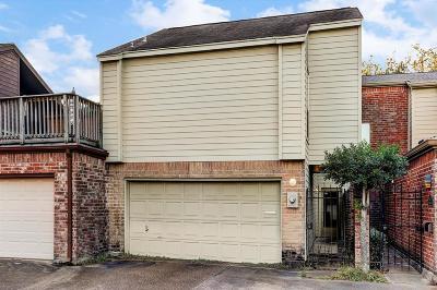 Montrose Condo/Townhouse For Sale: 4019 Montrose Boulevard