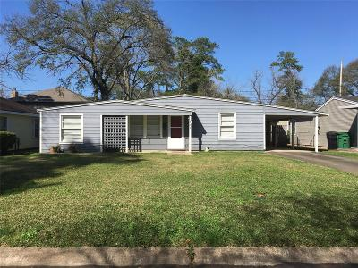 Houston Single Family Home For Sale: 1822 W Du Barry Lane E