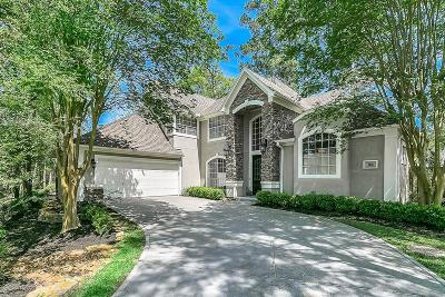 The Woodlands Single Family Home For Sale: 62 Mystic Lake Circle