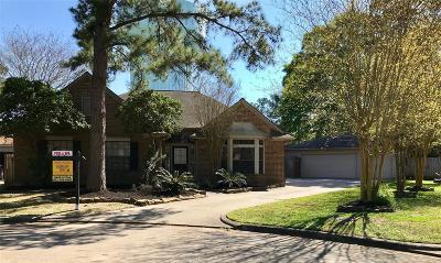 Kingwood Single Family Home For Sale: 3202 Echo Mountain Drive