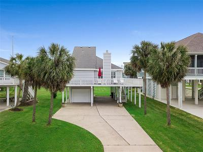 Galveston Single Family Home For Sale: 4206 Sandpiper Lane