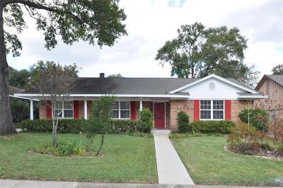 Houston Single Family Home For Sale: 6406 Kury Lane