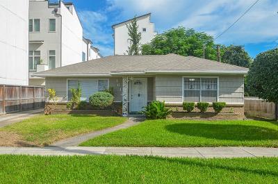 Houston Single Family Home For Sale: 1612 Summer Street