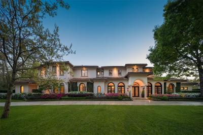 Houston Single Family Home For Sale: 4 Rip Van Winkle Lane