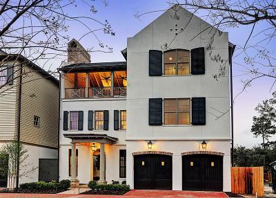 Houston Single Family Home For Sale: 76 Audubon Hollow Lane