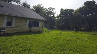 Houston Single Family Home For Sale: 8326 Eastover Street