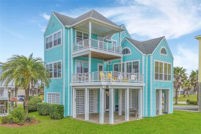 Galveston Single Family Home For Sale: 25322 Intrepid Lane
