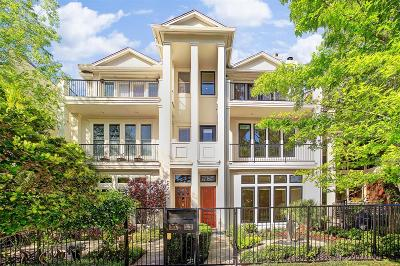 Houston Condo/Townhouse For Sale: 6316 Haskell Street