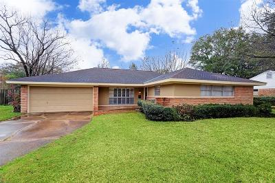 Houston Single Family Home For Sale: 10723 Atwell Drive
