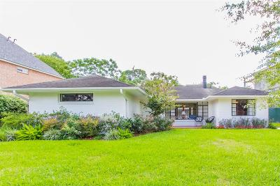 Houston Single Family Home For Sale: 3711 Dumbarton Street