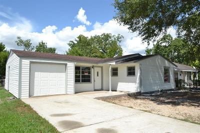 Houston TX Single Family Home For Sale: $139,000