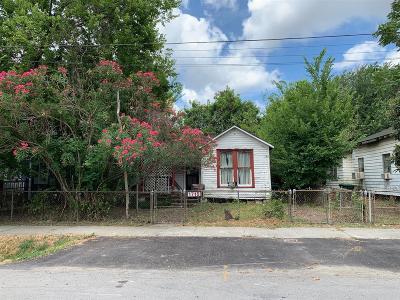 Houston Single Family Home For Sale: 1715 Everett Street