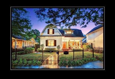 Houston Single Family Home For Sale: 1504 Harvard Street