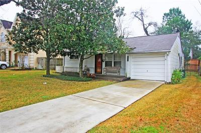 Bellaire Single Family Home For Sale: 5007 Evergreen