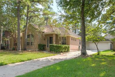 The Woodlands Single Family Home For Sale: 19 Long Springs Place