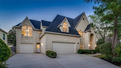 The Woodlands TX Single Family Home For Sale: $735,000