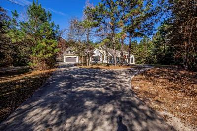 Montgomery County Single Family Home Option Pending: 23973 Spring Branch Point