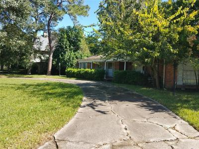 Houston Single Family Home For Sale: 5415 Doliver Drive
