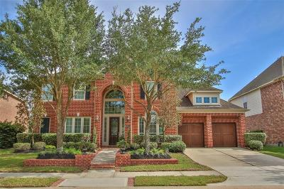 Cypress Single Family Home For Sale: 18711 S Colony Shore Drive