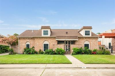 Galveston Single Family Home For Sale: 42 Colony Park Circle