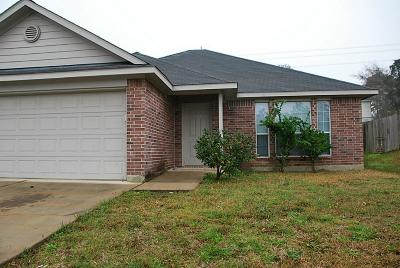 Willis Single Family Home For Sale: 13748 Bighorn Trail