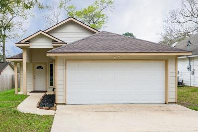 Conroe Single Family Home For Sale: 206 Tejas Boulevard