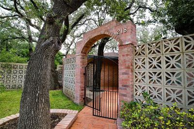 San Antonio Single Family Home For Sale: 218 Prinz Drive