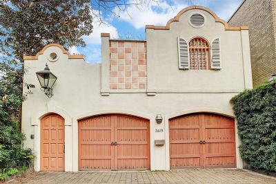 Montrose Single Family Home For Sale: 3619 Yupon Street