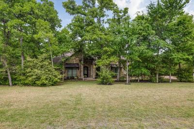Madison County, Brazos County Single Family Home Option Pending: 17039 Pawnee Crossing