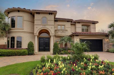 Houston TX Single Family Home For Sale: $1,075,000
