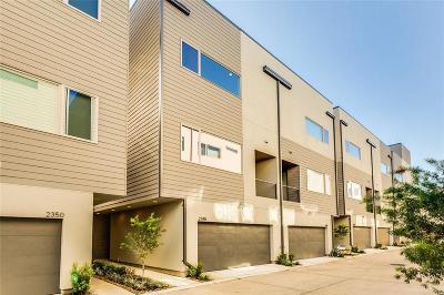 Condo/Townhouse For Sale: 2339 Sperber Lane